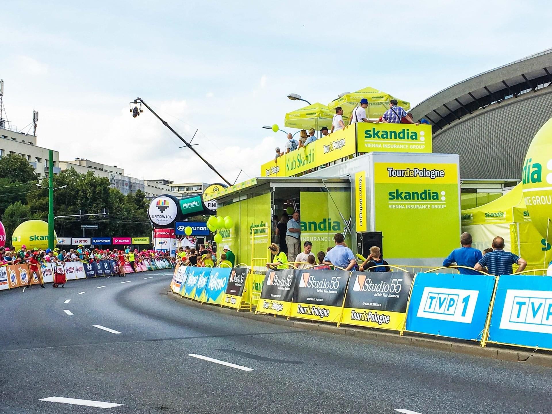 73 Tour de Pologne main sponsor hospitality Unit