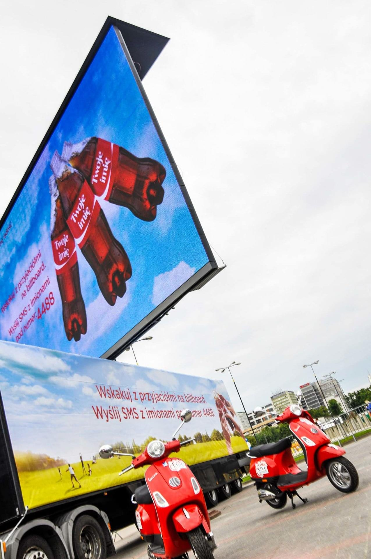 Warsaw Coca Cola campaign 2